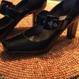 Franco Sarto Buckled Heels